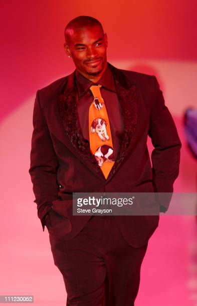 """Tyson Beckford during """"Runway For Life"""" Fashion Show to Benefit St. Jude Children's Research Hospital - Show at The Beverly Hilton Hotel in Beverly..."""