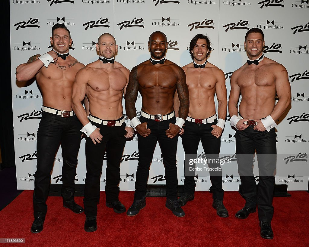 Supermodel And Actor Tyson Beckford Joins The Legendary Chippendales At The Rio All-Suite Hotel & Casino As The Special Celebrity Guest Host For A Limited Engagement Through May 24th
