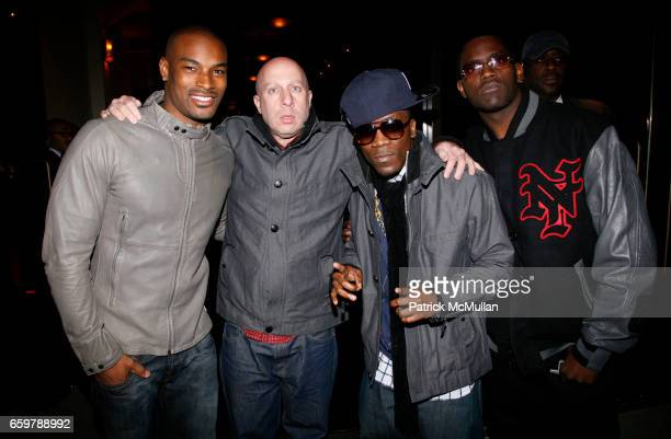 Tyson Beckford Steve Lobel Iyaz and Dirty attend ANTILIA Carnival 2009 at Tribeca Penthouse on November 5 2009 in New York