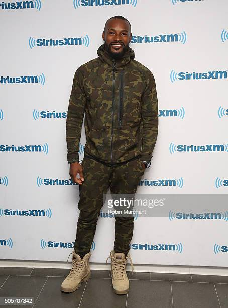 Tyson Beckford visits at SiriusXM Studios on January 15 2016 in New York City