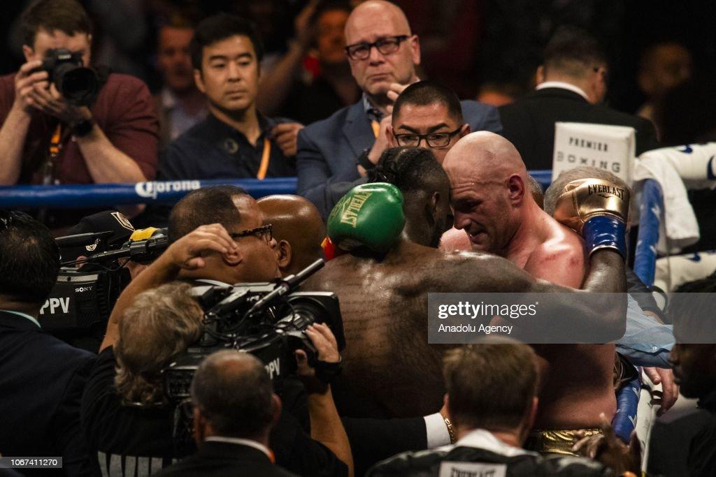 WBC Heavyweight Championship in California : ニュース写真