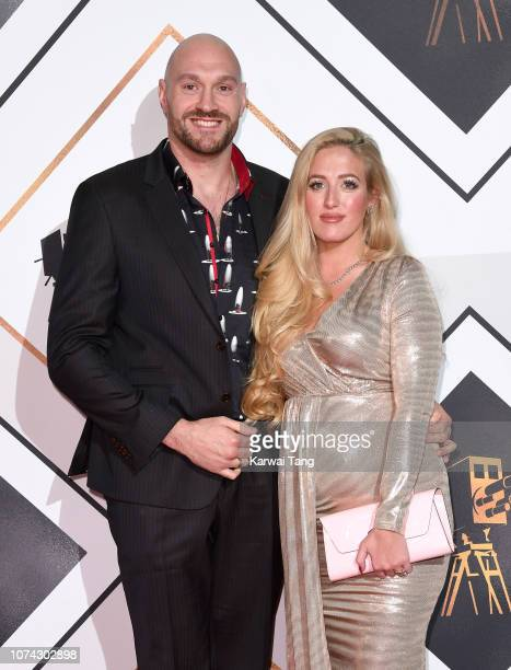 Tyson Fury and Paris Fury attend the 2018 BBC Sports Personality Of The Year at The Vox Conference Centre on December 15 2018 in Birmingham England