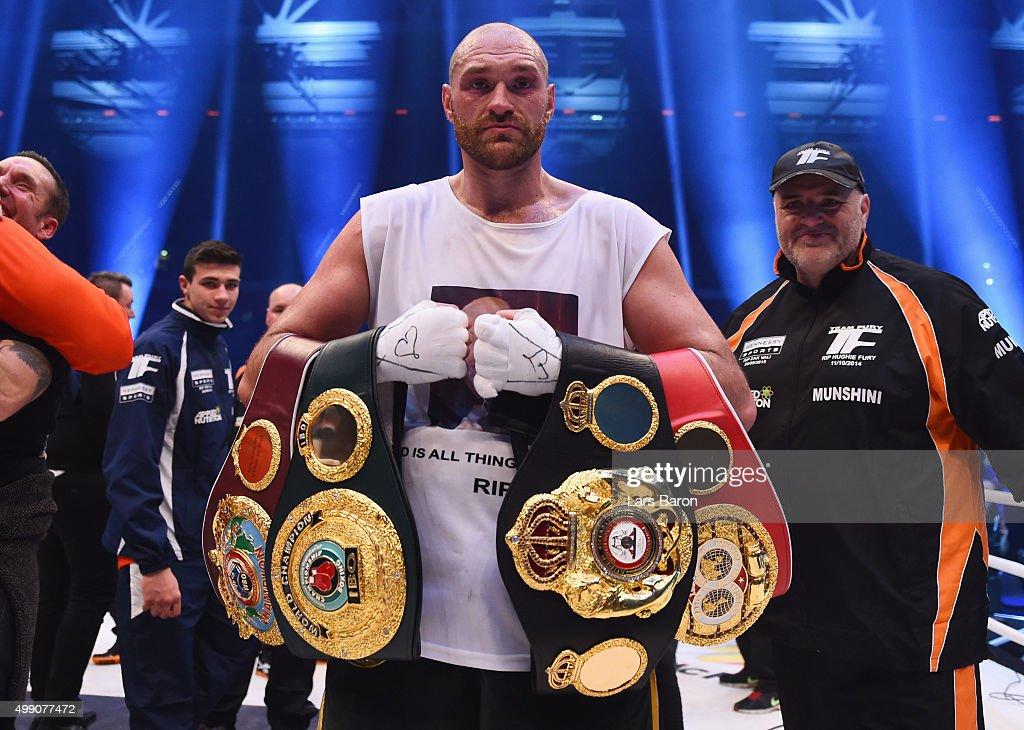 Wladimir Klitschko v Tyson Fury - IBF IBO WBA WBO Heavyweight World Championship : News Photo