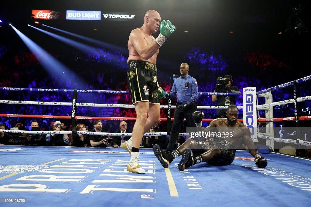 Deontay Wilder v Tyson Fury : ニュース写真