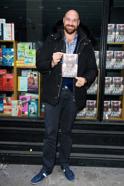 "GBR: ""Behind The Mask"" By Tyson Fury - Book Signing"