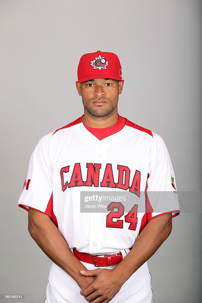World Baseball Classic - Team Canada Head Shots