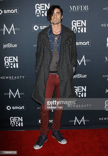 """Tyson Ritter arrives at Gen Art's """"Fresh Faces In Fashion"""" event held at Vibiana on October 22, 2011 in Los Angeles, California."""