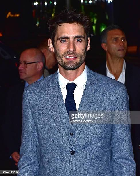Tyson Ritter arrives to New York premiere of 'Miss You Already' at Museum of Modern Art on October 25 2015 in New York City
