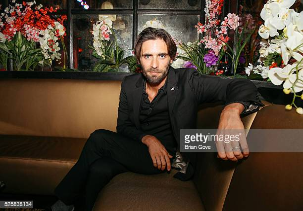 Tyson Ritter attends the Blink182 Karaoke Summer Tour Announcement at Blind Dragon on April 28 2016 in West Hollywood California