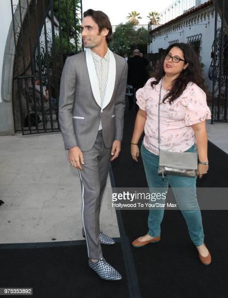 Tyson Ritter is seen on June 14 2018 in Los Angeles California