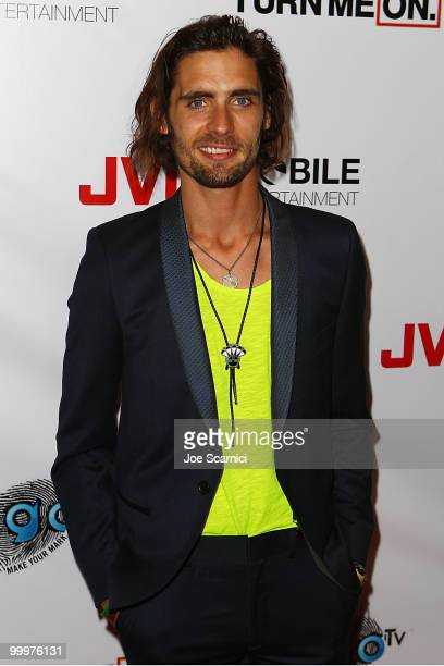 Tyson Ritter of AllAmerican Rejectsarrives at the AllAmerican Rejects World Video Premiere Party at cinespace on May 18 2010 in Hollywood California
