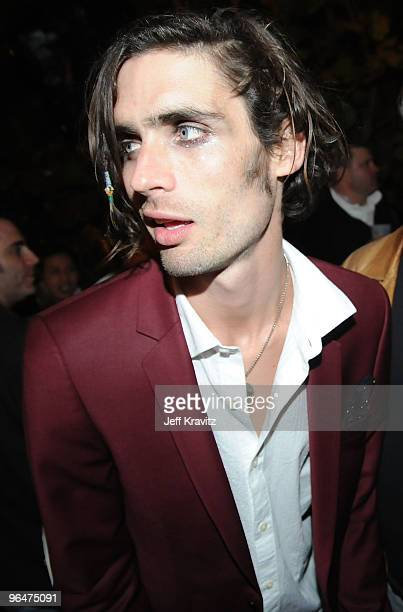 Tyson Ritter of the All American Rejects attends The Maxim Party 2010 at The Raleigh on February 6 2010 in Miami Florida