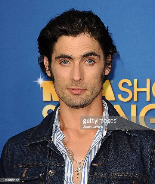 Tyson Ritter of The AllAmerican Rejects attends the MDA Labor Day Telethon at CBS Studios on August 7 2012 in Los Angeles California