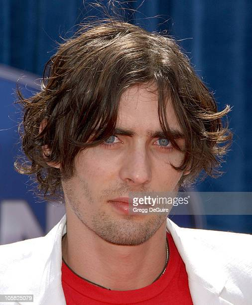 Tyson Ritter of The AllAmerican Rejects during Meet the Robinsons Los Angeles Premiere Arrivals at El Capitan Theater in Hollywood California United...