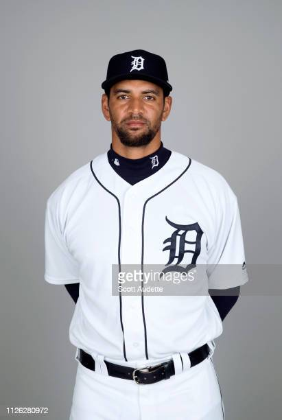 Tyson Ross of the Detroit Tigers poses during Photo Day on Tuesday February 19 2019 at Publix Field at Joker Marchant Stadium in Lakeland Florida