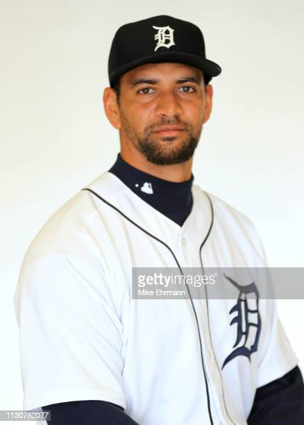 Tyson Ross of the Detroit Tigers poses for a portrait during photo day at Publix Field at Joker Marchant Stadium on February 19 2019 in Lakeland...