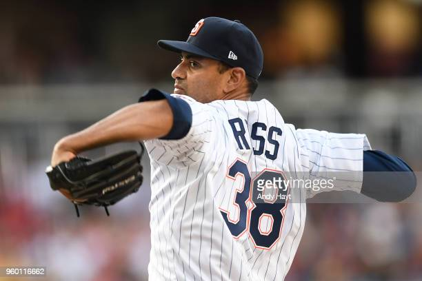 Tyson Ross of the San Diego Padres pitches during the game against the St Louis Cardinals at PETCO Park on May 12 2018 in San Diego California Tyson...
