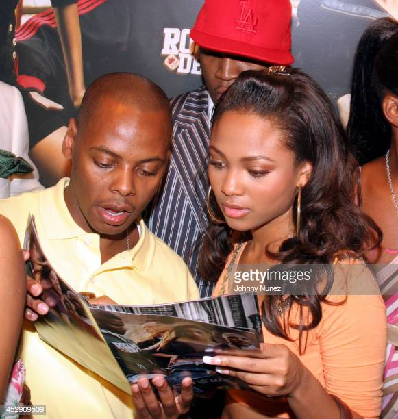 Tyty and Terria Marie during Vibe Magazine Presents RocAWear 2005 Hosted By Jay Z at The Lowe Gallery in Los Angeles California United States