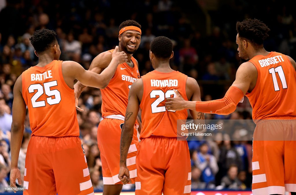 Syracuse v Duke : News Photo