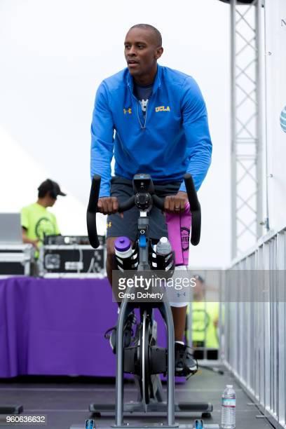 Tyus Edney attends the 6th Annual Tour de Pier at Manhattan Beach Pier on May 20 2018 in Manhattan Beach California