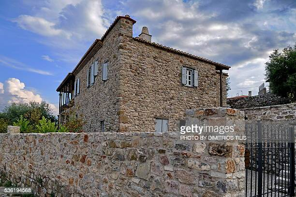 Tzavellas family old stone house