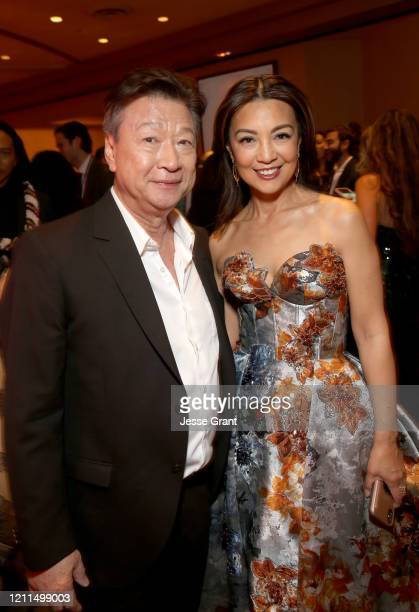 Tzi Ma and Ming-Na Wen attend the World Premiere of Disney's 'MULAN' at the Dolby Theatre on March 09, 2020 in Hollywood, California.