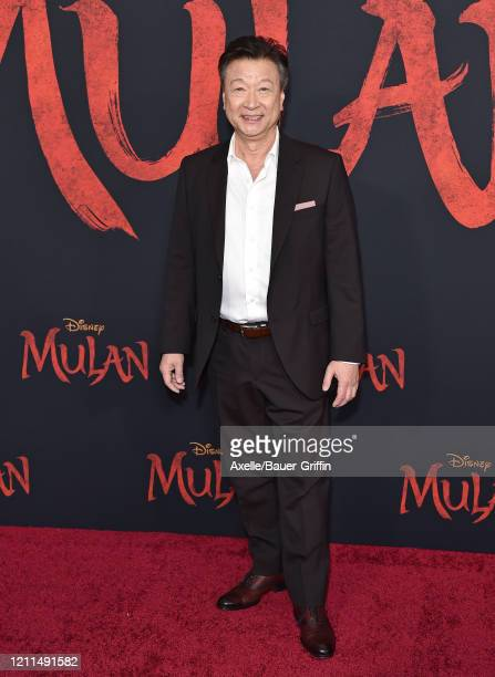Tzi Ma attends the premiere of Disney's Mulan on March 09 2020 in Hollywood California