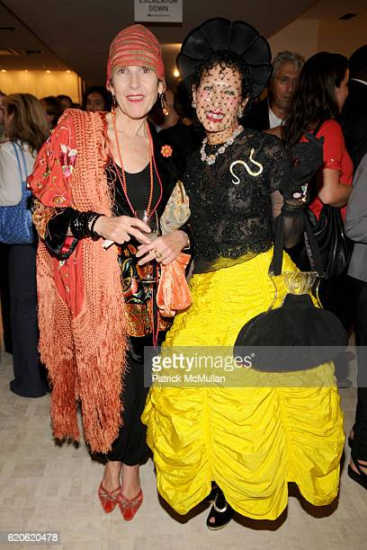 Tziporah Salamon and Patricia Fox attend The NEW YORK TIMES BERGDORF GOODMAN Celebrate a Photography Retrospective by BILL CUNNINGHAM at Bergdorf...
