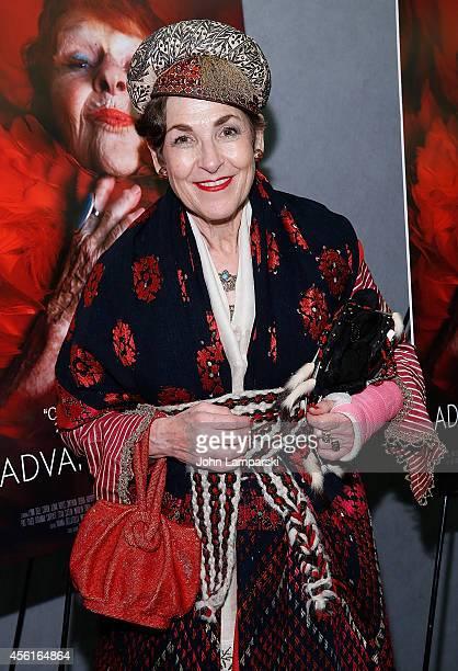Tziporah Salamon attends 'Advanced Style' New York Screening at Quad Cinema on September 26 2014 in New York City