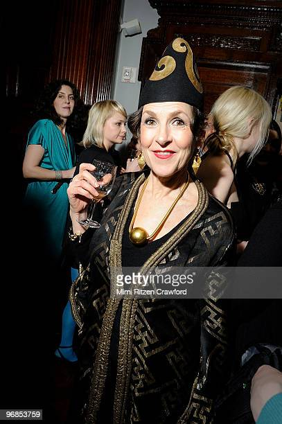 Tziporah Salamon attends the 'Quicktake' Rodarte exhibition opening party at the CooperHewitt National Design Museum on February 18 2010 in New York...