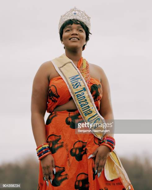 STATES u2013 FEBRUARY 3 2017 Miss Tanzania USA 2016 Breianna Fields poses for a portrait on land that her family bought when they were freed from...