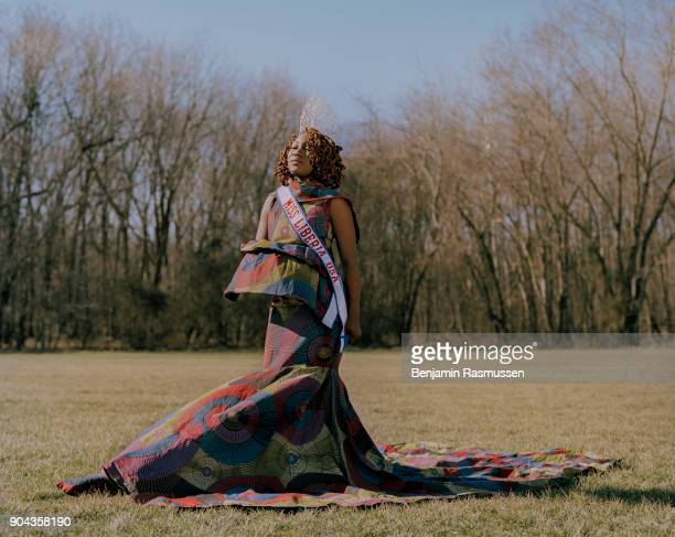 STATES 'u2013 FEBRUARY 4 2017 Miss Liberia US 2016 Gboea Flumo poses for a portrait in Fort Washington Maryland When citizenship was first defined by...