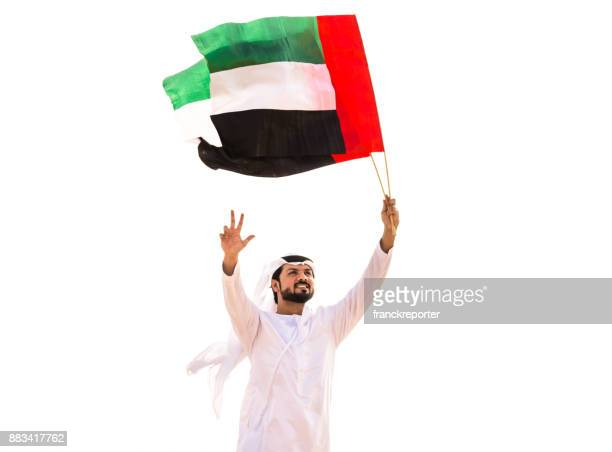 uae national day in the desert - flag stock pictures, royalty-free photos & images