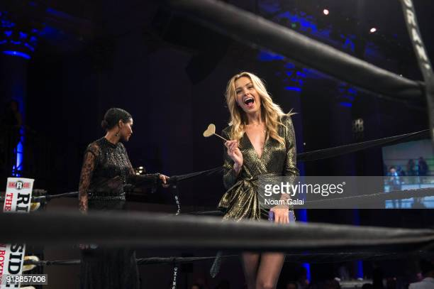 Ubah Hassan and Petra Nemcova attend the All Hands and Hearts Smart Response Third Annual Fight For Education gala at Cipriani Wall Street on...