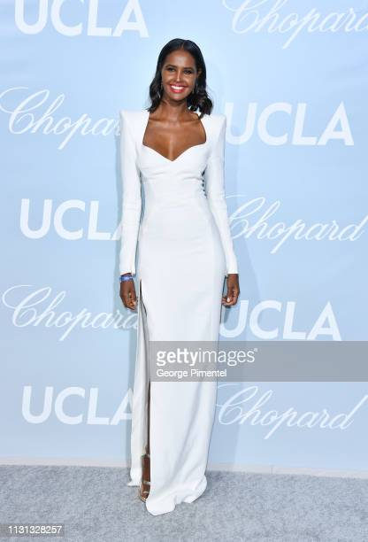 Ubah Hassan arrives at the 2019 Hollywood For Science Gala at Private Residence on February 21 2019 in Los Angeles California