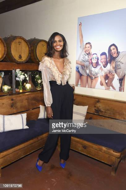 Ubah Hassan attends as Aerie celebrates #AerieREAL Role Models in NYC on January 31 2019 in New York City