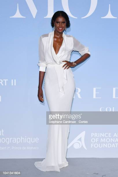 Ubah Hassan attends the MonteCarlo Gala for the Global Ocean 2018 on September 26 2018 in MonteCarlo Monaco