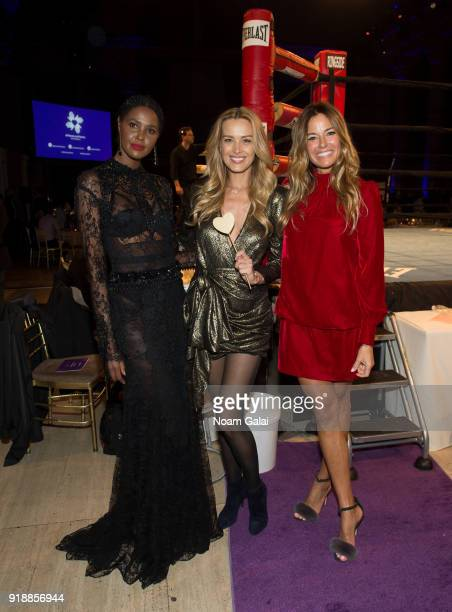 Ubah Hassan Kelly Killoren Bensimon and Petra Nemcova attend the All Hands and Hearts Smart Response Third Annual Fight For Education gala at...