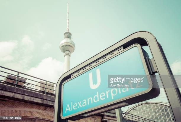 U-Bahn Berlin Alexander Platz