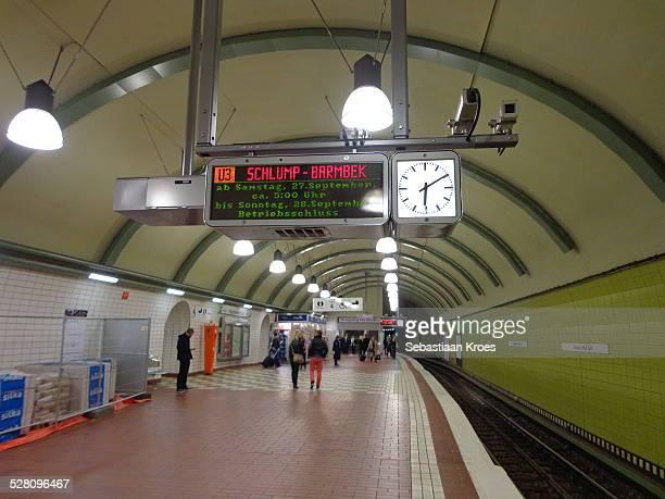 U-Bahn Line 3 Hauptbahnhof Süd, Hamburg, Germany