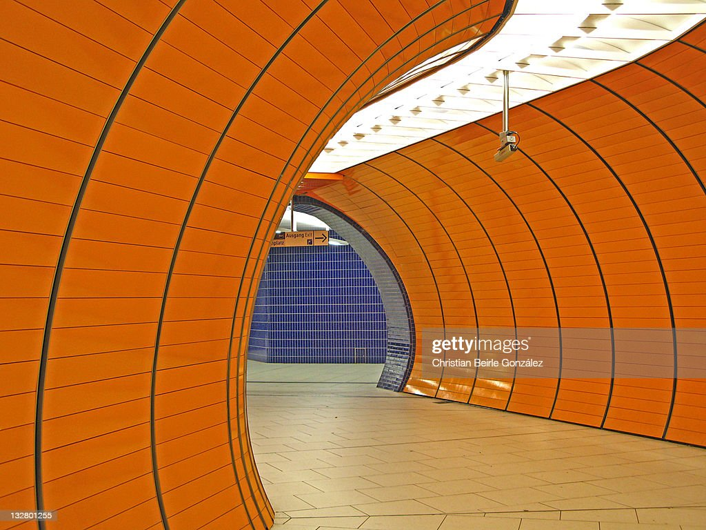 U-Bahn Marienplatz - Munich : Stock-Foto