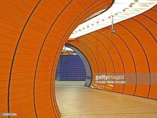 u-bahn marienplatz - munich - christian beirle stock pictures, royalty-free photos & images