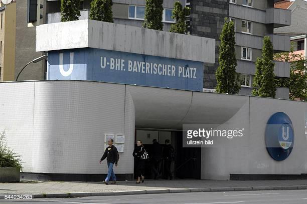 Bahnhof Bayerischer Platz in Berlin - Schöneberg