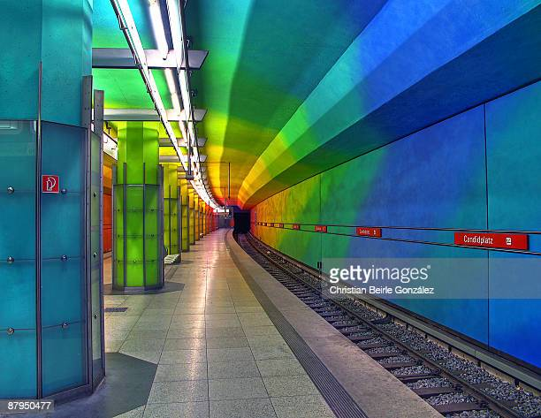 u-bahnhof candidplatz - christian beirle stock pictures, royalty-free photos & images