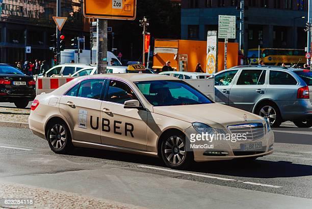 Uber Berlin taxi