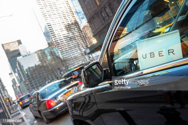 Uber car service in New York City