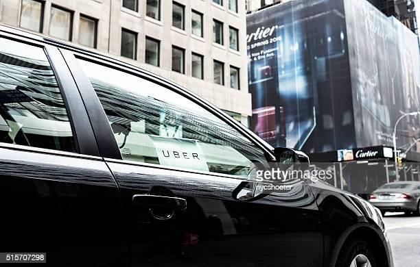ユーバー 車サービスでニューヨーク市