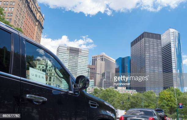 Uber car service in NYC