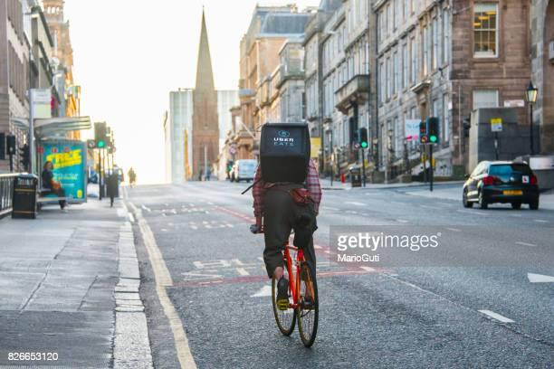 Uber mange cycliste