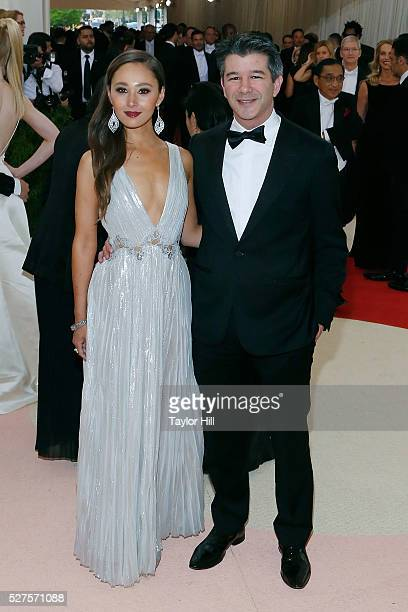 Uber founder Travis Kalanick attends 'Manus x Machina Fashion in an Age of Technology' the 2016 Costume Institute Gala at the Metropolitan Museum of...